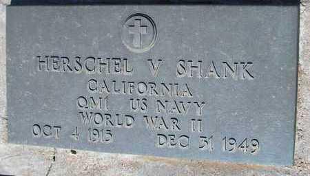 SHANK, HERSCHEL V. - Mohave County, Arizona | HERSCHEL V. SHANK - Arizona Gravestone Photos