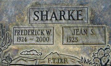 SHARKE, JEAN S - Mohave County, Arizona   JEAN S SHARKE - Arizona Gravestone Photos
