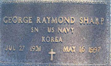 SHARP, GEORGE RAYMOND - Mohave County, Arizona | GEORGE RAYMOND SHARP - Arizona Gravestone Photos