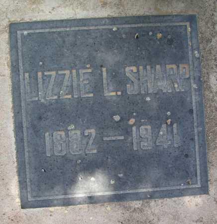 COX SHARP, LIZZIE L. - Mohave County, Arizona | LIZZIE L. COX SHARP - Arizona Gravestone Photos