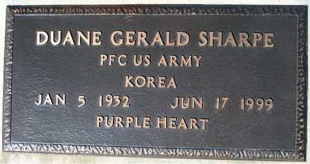 SHARPE, DUANE GERALD - Mohave County, Arizona | DUANE GERALD SHARPE - Arizona Gravestone Photos