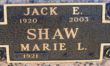 SHAW, MARIE L - Mohave County, Arizona | MARIE L SHAW - Arizona Gravestone Photos