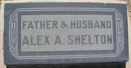 SHELTON, ALEX A. - Mohave County, Arizona | ALEX A. SHELTON - Arizona Gravestone Photos