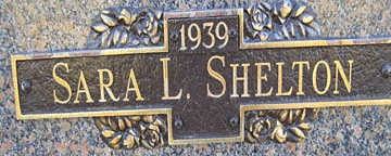 SHELTON, SARA L - Mohave County, Arizona   SARA L SHELTON - Arizona Gravestone Photos