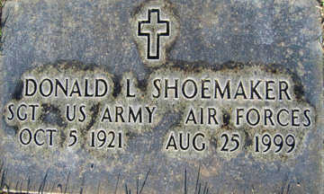 SHOEMAKER, DONALD L - Mohave County, Arizona | DONALD L SHOEMAKER - Arizona Gravestone Photos