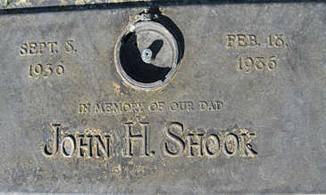 SHOOK, JOHN H - Mohave County, Arizona | JOHN H SHOOK - Arizona Gravestone Photos