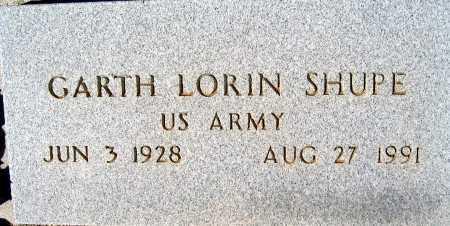 SHUPE, GARTH LORIN - Mohave County, Arizona   GARTH LORIN SHUPE - Arizona Gravestone Photos