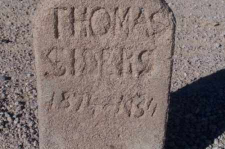 SIDERS, THOMAS - Mohave County, Arizona | THOMAS SIDERS - Arizona Gravestone Photos