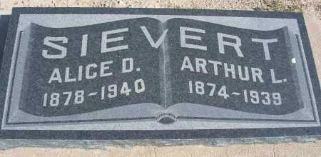 SIEVERT, ALICE D. - Mohave County, Arizona   ALICE D. SIEVERT - Arizona Gravestone Photos