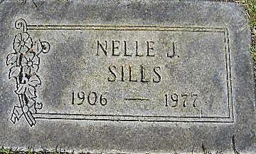 SILLS, NELLE JEAN - Mohave County, Arizona   NELLE JEAN SILLS - Arizona Gravestone Photos
