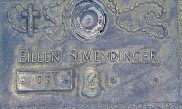SIMENDINGER, EILEEN - Mohave County, Arizona   EILEEN SIMENDINGER - Arizona Gravestone Photos