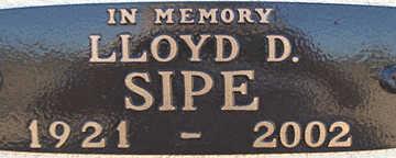 SIPE, LLOYD - Mohave County, Arizona   LLOYD SIPE - Arizona Gravestone Photos
