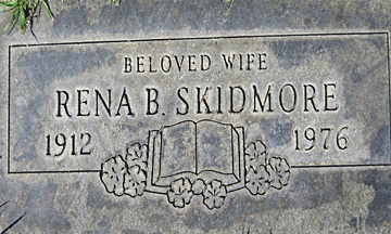 SKIDMORE, RENA BURTON - Mohave County, Arizona | RENA BURTON SKIDMORE - Arizona Gravestone Photos