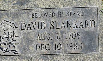 SLANKARD, DAVID - Mohave County, Arizona | DAVID SLANKARD - Arizona Gravestone Photos