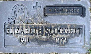 SLOGGETT, ELIZABETH - Mohave County, Arizona   ELIZABETH SLOGGETT - Arizona Gravestone Photos