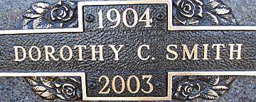 SMITH, DOROTHY C - Mohave County, Arizona   DOROTHY C SMITH - Arizona Gravestone Photos