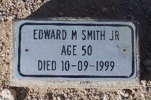 SMITH JR, EDWARD M - Mohave County, Arizona | EDWARD M SMITH JR - Arizona Gravestone Photos