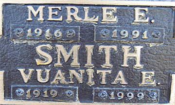 SMITH, MERLE E - Mohave County, Arizona | MERLE E SMITH - Arizona Gravestone Photos