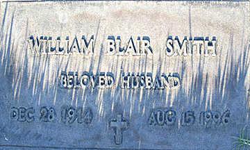 SMITH, WILLIAM BLAIR - Mohave County, Arizona | WILLIAM BLAIR SMITH - Arizona Gravestone Photos