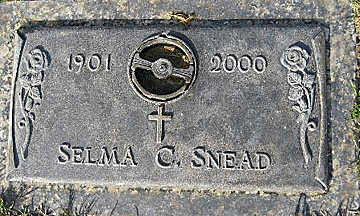 SNEAD, SELMA C - Mohave County, Arizona | SELMA C SNEAD - Arizona Gravestone Photos
