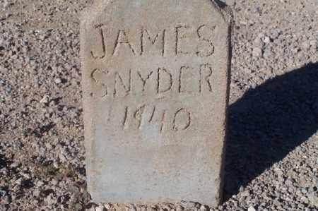 SNYDER, JAMES - Mohave County, Arizona | JAMES SNYDER - Arizona Gravestone Photos