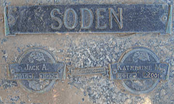 SODEN, KATHERINE M - Mohave County, Arizona | KATHERINE M SODEN - Arizona Gravestone Photos
