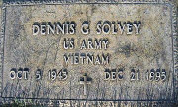 SOLVEY, DENNIS G - Mohave County, Arizona   DENNIS G SOLVEY - Arizona Gravestone Photos