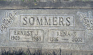SOMMERS, ERNEST J - Mohave County, Arizona | ERNEST J SOMMERS - Arizona Gravestone Photos