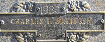 SORENSEN, CHARLES - Mohave County, Arizona | CHARLES SORENSEN - Arizona Gravestone Photos