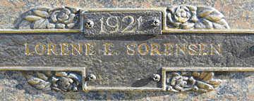 SORENSEN, LORENE E - Mohave County, Arizona | LORENE E SORENSEN - Arizona Gravestone Photos