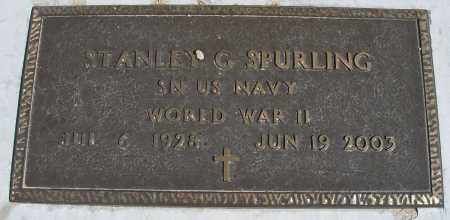 SPURLING, STANLEY G. - Mohave County, Arizona | STANLEY G. SPURLING - Arizona Gravestone Photos