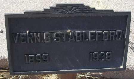 STABLEFORD, VERN B. - Mohave County, Arizona | VERN B. STABLEFORD - Arizona Gravestone Photos