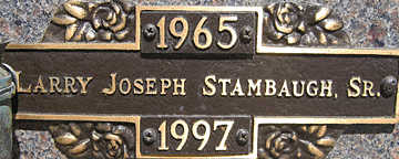 STAMBAUGH SR., LARRY JOSEPH - Mohave County, Arizona | LARRY JOSEPH STAMBAUGH SR. - Arizona Gravestone Photos