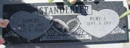 STANDERFER, SAMUEL - Mohave County, Arizona | SAMUEL STANDERFER - Arizona Gravestone Photos