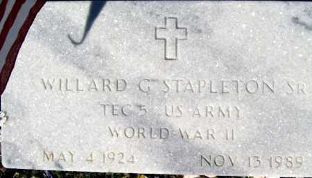 STAPLETON SR, WILLARD - Mohave County, Arizona | WILLARD STAPLETON SR - Arizona Gravestone Photos