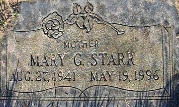 STARR, MARY G - Mohave County, Arizona | MARY G STARR - Arizona Gravestone Photos