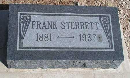 STERRETT, FRANK - Mohave County, Arizona | FRANK STERRETT - Arizona Gravestone Photos