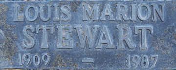 STEWART, LOUISE MARION - Mohave County, Arizona | LOUISE MARION STEWART - Arizona Gravestone Photos