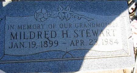 STEWART, MILDRED H - Mohave County, Arizona | MILDRED H STEWART - Arizona Gravestone Photos