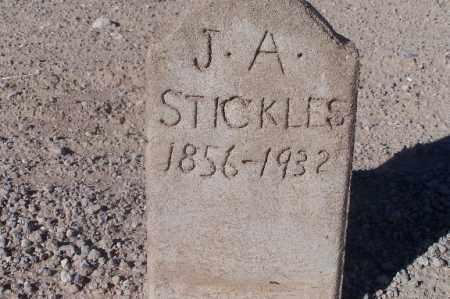 STICKLES, J.A. - Mohave County, Arizona | J.A. STICKLES - Arizona Gravestone Photos