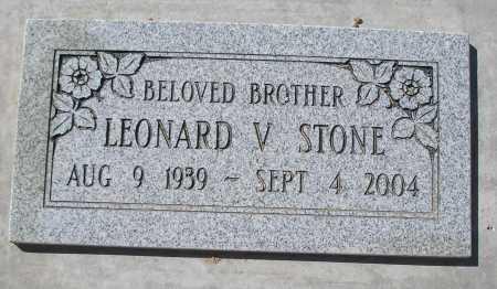 STONE, LEONARD V - Mohave County, Arizona   LEONARD V STONE - Arizona Gravestone Photos