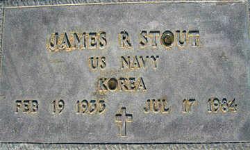 STOUT, JAMES R - Mohave County, Arizona | JAMES R STOUT - Arizona Gravestone Photos