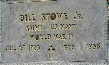STOWE JR., BILL - Mohave County, Arizona | BILL STOWE JR. - Arizona Gravestone Photos