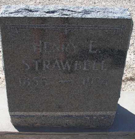 STRAWBELL, HENRY L. - Mohave County, Arizona   HENRY L. STRAWBELL - Arizona Gravestone Photos
