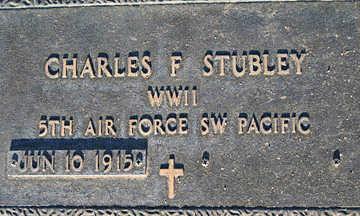 STUBLEY, CHARLES F - Mohave County, Arizona | CHARLES F STUBLEY - Arizona Gravestone Photos
