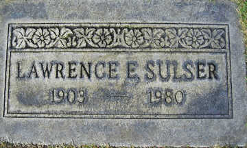 SULSER, LAWRENCE E - Mohave County, Arizona   LAWRENCE E SULSER - Arizona Gravestone Photos