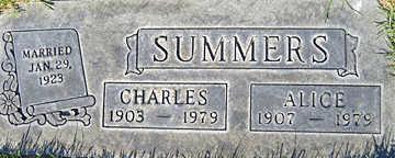 SUMMERS, ALICE A - Mohave County, Arizona | ALICE A SUMMERS - Arizona Gravestone Photos