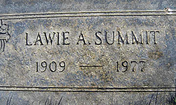 SUMMIT, LAWIE A - Mohave County, Arizona | LAWIE A SUMMIT - Arizona Gravestone Photos