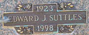 SUTTLES, EDWARD J - Mohave County, Arizona | EDWARD J SUTTLES - Arizona Gravestone Photos