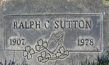 SUTTON, RALPH C - Mohave County, Arizona   RALPH C SUTTON - Arizona Gravestone Photos
